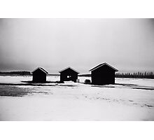 Finnish landscape Photographic Print