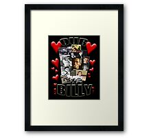 OUR BILLY Framed Print