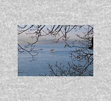 Moored Yacht in Carrick Roads Cornwall Unisex T-Shirt
