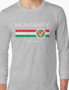 Euro 2016 - Hungary (Home Red) Long Sleeve T-Shirt
