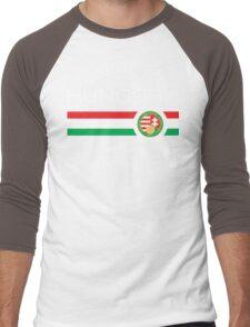 Euro 2016 - Hungary (Home Red) Men's Baseball ¾ T-Shirt