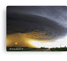 Clouds: A Force of Nature Canvas Print