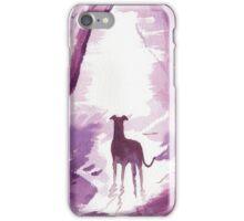 Greyhound, Whippet, Lurcher Art Print iPhone Case/Skin
