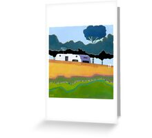 Australian Backyard - Series No.2 Greeting Card