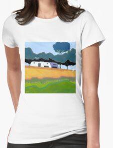 Australian Backyard - Series No.2 Womens Fitted T-Shirt