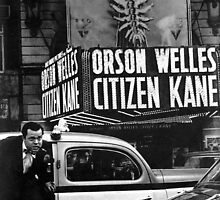 Orson Welles at Citizen Kane premier  by RorySummers