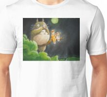 Moonlight Music with Totoro - My Neighbor Totoro Unisex T-Shirt