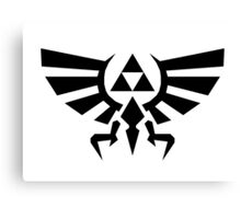 Zelda Tri Force Canvas Print