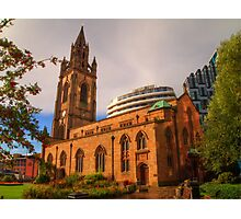 The Church of Our Lady and Saint Nicholas - Liverpool UK Photographic Print