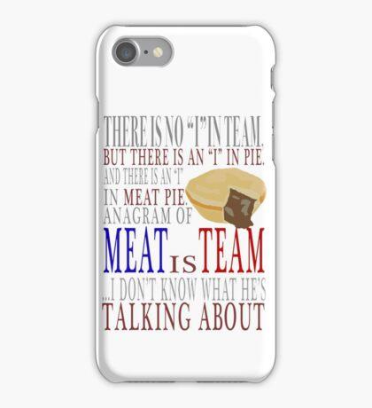 Shaun Of The Dead Meat Pie Mr Sloan iPhone Case/Skin