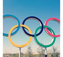 Olympic  Photographic Print