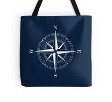 BLUE COMPASS Tote Bag