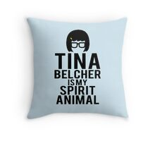 Tina Spirit Animal Throw Pillow