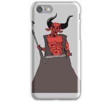Legend devil iPhone Case/Skin