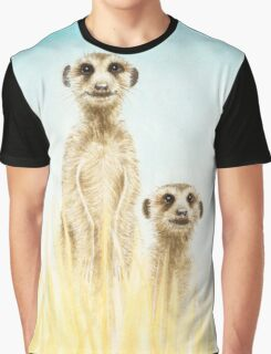 Standing in the grass Graphic T-Shirt