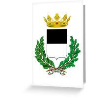 Coat of Arms of ferrara Greeting Card