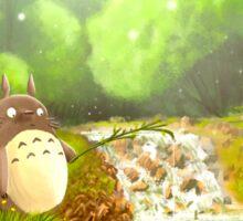 Totoro Fishing Sticker