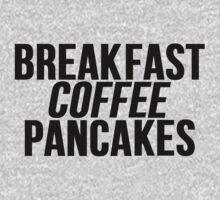 Breakfast Coffee Pancakes by mralan
