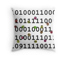 Code with bugs Throw Pillow