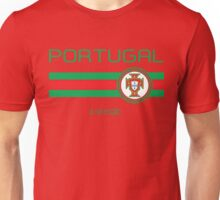 Euro 2016 Football - Portugal (Home Red) Unisex T-Shirt
