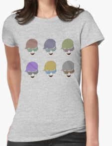 clifford color Womens Fitted T-Shirt