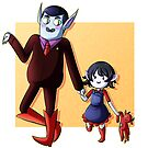 Father and Daughter Time by lythweird