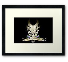 dragon's blood Framed Print