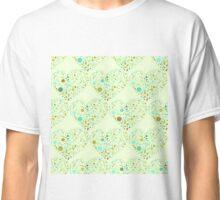 Green Valentine's Hearts Classic T-Shirt