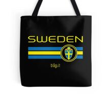 Euro 2016 Football - Sweden (Away Black) Tote Bag