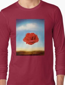 Meditative Rose Long Sleeve T-Shirt