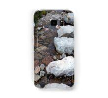 Scottish mountain stream rocks Samsung Galaxy Case/Skin