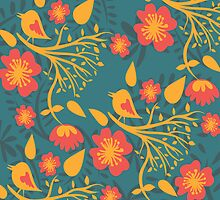 Floral Pattern by HD Connelly