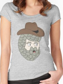 cowboy bob Women's Fitted Scoop T-Shirt