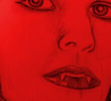 Vampire Love  Sticker