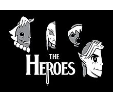 Meet The Heroes Photographic Print