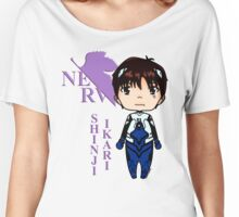 Shinji Ikari-Evangelion Women's Relaxed Fit T-Shirt