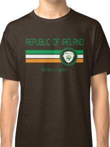 Euro 2016 Football - Republic of Ireland (Away White) Classic T-Shirt