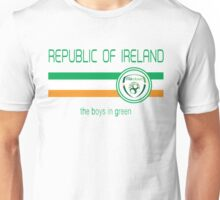 Euro 2016 Football - Republic of Ireland (Away White) Unisex T-Shirt