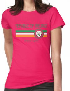 Euro 2016 Football - Republic of Ireland (Away White) Womens Fitted T-Shirt