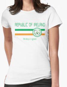 Euro 2016 Football - Republic of Ireland (Away White) Womens T-Shirt