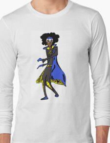 Retro Static Long Sleeve T-Shirt