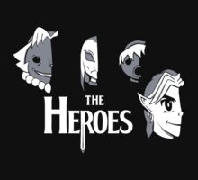 Meet The Heroes by TroytleArt