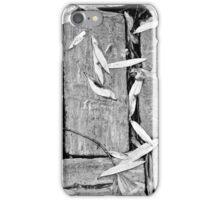 Leaves on Bricks iPhone Case/Skin