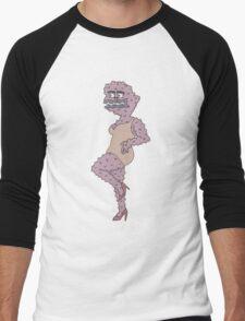 sexy bubblegirl Men's Baseball ¾ T-Shirt