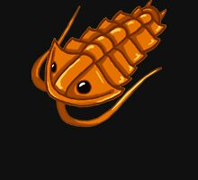 Gold Trilobite Womens Fitted T-Shirt
