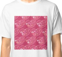 Romantic Art Hearts Classic T-Shirt