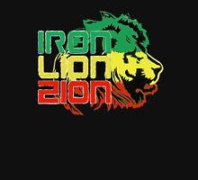 Reggae Rasta Iron, Lion, Zion Unisex T-Shirt