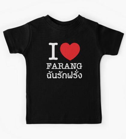 I Love (Heart) Farang Kids Tee