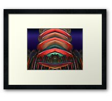 Crystal Highrise Framed Print