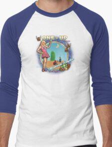 Mushroom Kingdom Men's Baseball ¾ T-Shirt
